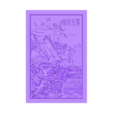 MontainsAndHills.stl Download free STL file Chinese landscape 3d model of bas-relief for cnc • 3D print model, stlfilesfree