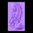 BirdAndFish.stl Télécharger fichier OBJ gratuit oiseau et poisson 3d modèle de bas-relief pour cnc • Plan imprimable en 3D, stlfilesfree