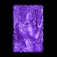 tibetanbuddhademon.stl Download free OBJ file Tibetan Buddha statue 3d model of relief  • 3D print design, stlfilesfree