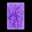 tibetbuddhademonz.obj Télécharger fichier OBJ gratuit MODÈLE TIBETAN BUDDHA RELIEF POUR CNC • Objet pour impression 3D, stlfilesfree