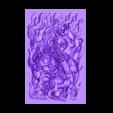 tibetbuddhademonz.stl Télécharger fichier OBJ gratuit MODÈLE TIBETAN BUDDHA RELIEF POUR CNC • Objet pour impression 3D, stlfilesfree