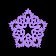 etoile_HM_constellation_v3-01.STL Download STL file Hanging or standing decoration HM Constellation V.3 • Model to 3D print, Tibe-Design