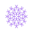 rond_HM_VR28-01.STL Download STL file Hanging or standing decoration HM VR28 • 3D printable design, Tibe-Design