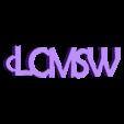 3D.stl Download free STL file LCMSW PERSONALIZABLE KEY HOLDER • 3D printer object, Ibarakel