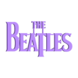 TheBeatles.stl Download STL file 60's Band Logos (Bundled Deal) • 3D print template, Endless3D