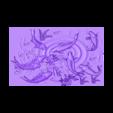 carpAndLotus.obj Télécharger fichier OBJ gratuit fleurs de lotus et de poissons modèle 3d de bas-relief • Design à imprimer en 3D, stlfilesfree
