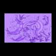 carpAndLotus.stl Télécharger fichier OBJ gratuit fleurs de lotus et de poissons modèle 3d de bas-relief • Design à imprimer en 3D, stlfilesfree
