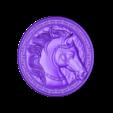 HorseHead.stl Télécharger fichier STL gratuit pendentif tête de cheval • Modèle à imprimer en 3D, stlfilesfree