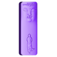 buddhafacemonk.stl Download free STL file buddha face and monk • 3D print object, stlfilesfree