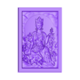guanyinBasrelief.stl Download free STL file guanyin kuan-yin buddha 3d model of bas-relief • 3D printing model, stlfilesfree