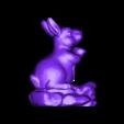 04rabbit.stl Télécharger fichier STL gratuit modèle 3d de lapin • Modèle pour impression 3D, stlfilesfree