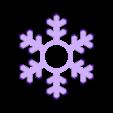spinner_snowflake.stl Télécharger fichier STL gratuit Flocon de flocon de neige • Objet pour impression 3D, bda