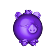 cochonnelle.obj Download free OBJ file Cochonnelle (pig girl series minitoys) • 3D printing template, Majin59