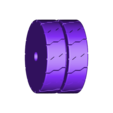 front_wheels_x2_black.stl Download free STL file Fenwick Linde H40 forklift with moving parts • 3D printer design, xTremePower