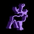 Renne.stl Download STL file Cookie Cutter - Reindeer / Take away piece reinder • 3D printer model, 3ID