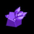 Rock_Plort.stl Télécharger fichier STL gratuit Slime Rancher Poule de poule, Chickadoo, Carotte, Cuberry, Heartbeet, Pogofruit, Plorts • Modèle imprimable en 3D, ChaosCoreTech