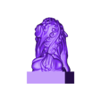 FooDogsDDD.stl Download free STL file guardian lions or Foo Dogs • Template to 3D print, stlfilesfree