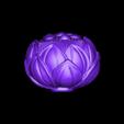 lotusFlower.stl Download free STL file lotus • 3D printing design, stlfilesfree