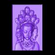 guanyinKKK.stl Télécharger fichier STL gratuit guanyin avec des milliers de têtes • Objet pour imprimante 3D, stlfilesfree