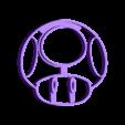 mushroom_inside_final.stl Download free STL file Super mario mushroom cookie cutter • 3D printable object, AmineZed
