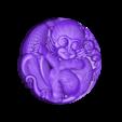 Monkeys.stl Télécharger fichier STL gratuit Singes • Plan pour imprimante 3D, stlfilesfree