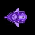 Main_Body_with_locks.stl Télécharger fichier STL gratuit GyroBomber nain • Objet imprimable en 3D, mrhers2