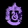Slytherin.stl Download STL file Harry Potter - Slytherin Necklace / Slytherin Pendant • 3D print model, 3ID
