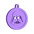 Darth Vader key fob.stl Download STL file Darth Vader key fob • 3D printable template, InSpace