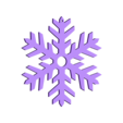 Snowflake2.STL Download STL file Pack décoration pour Noël • 3D printable model, Shigeryu
