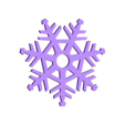 Snowflake3.STL Download STL file Pack décoration pour Noël • 3D printable model, Shigeryu