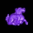 Dragon_lowRes (repaired).obj Download free OBJ file Dragon Netsuke • 3D print template, AucklandMuseum