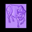 water_buffalo.stl Télécharger fichier STL gratuit buffles d'eau • Objet pour imprimante 3D, stlfilesfree