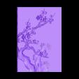 Plum_blossom.stl Télécharger fichier STL gratuit fleur de prunier • Objet pour impression 3D, stlfilesfree