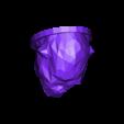 gorilla-1.stl Download STL file kong head • 3D print design, juanpix