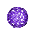boule_an_perso01.STL Download free STL file Decorative ball of the new year V.1 • 3D printer template, Tibe-Design
