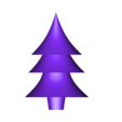 christmas_tree.stl Download free STL file Test tube christmas plug decoration • Template to 3D print, kleinerELM