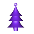 christmas_tree_hanger.stl Download free STL file Test tube christmas plug decoration • Template to 3D print, kleinerELM