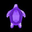 Turtle low poly.stl Download STL file Low-poly turtle • 3D printing design, Majs84