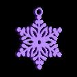 Snowflake_1.stl Download STL file Snowflake Ornament • 3D printer design, 3DPrintingGurus