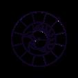 clock_base.stl Download free STL file Wall Clock Zodiac Circle • Model to 3D print, TanyaAkinora