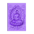 buddha_background.stl Télécharger fichier STL gratuit Bouddha • Design à imprimer en 3D, stlfilesfree