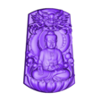 Buddha_with_dragon_background.stl Download free STL file buddha with background of dragon • 3D printing template, stlfilesfree