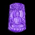 Buddha_with_dragon_background.stl Télécharger fichier STL gratuit Bouddha avec fond de dragon • Modèle pour imprimante 3D, stlfilesfree