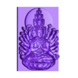 new_guanyin-with_thousands_of_hands.stl Download free STL file kwan-yin bodhisattva with thousands of heads and hands • 3D printing design, stlfilesfree