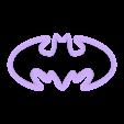 Cookies cutter - Batman 2.stl Download STL file Cookies cutter - Batman • 3D printer object, Made_In_Space