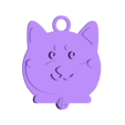 2018-dog02.stl Download free STL file 2018 HAPPY CHINESE NEW YEAR-YEAR OF The Dog Keychain / Magnets • 3D printing design, mingshiuan