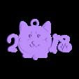 2018-dog03.stl Télécharger fichier STL gratuit 2018 HAPPY CHINESE NOUVEL ANNEE 2018 DE L'AIMANT DU CHIEN Porte-clés / Aimants • Objet imprimable en 3D, mingshiuan
