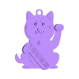 2018-dog04-w2.stl Télécharger fichier STL gratuit 2018 HAPPY CHINESE NOUVEL ANNEE 2018 DE L'AIMANT DU CHIEN Porte-clés / Aimants • Objet imprimable en 3D, mingshiuan