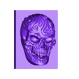 artistic_skull.stl Download free STL file artistic skull • Template to 3D print, stlfilesfree