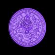 round_Dragon.stl Download free STL file dragon • 3D print object, stlfilesfree